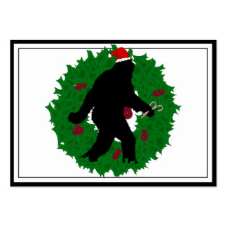 Christmas Squatchin Business Card