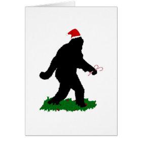 Christmas Squatchin' Card