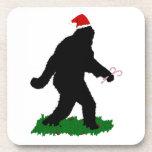 Christmas Squatchin' Drink Coaster