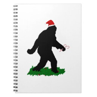 Christmas Squatchin' Note Book