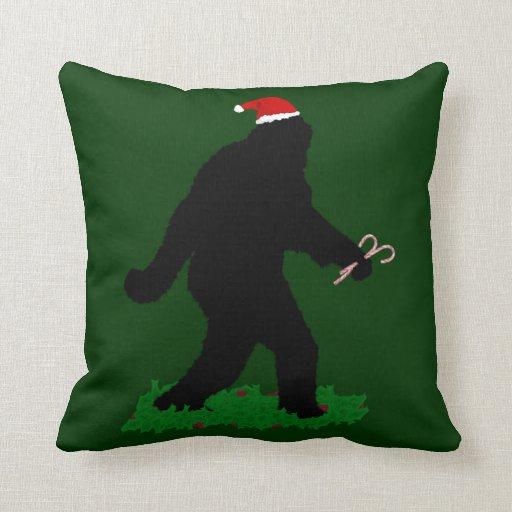 Christmas Squatchin' Pillows