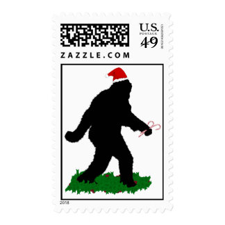 Christmas Squatchin' Stamp