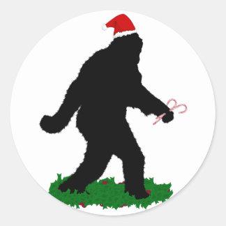 Christmas Squatchin' Sticker