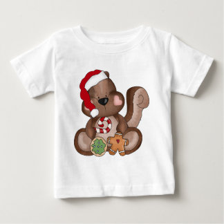 Christmas Squirrel Baby T-Shirt