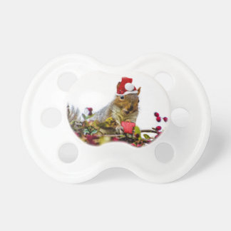 Christmas Squirrel BooginHead Pacifier