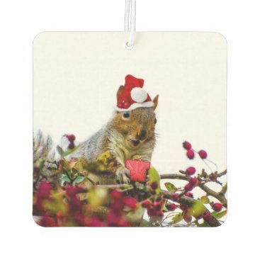 Christmas Themed Christmas Squirrel Car Air Freshener