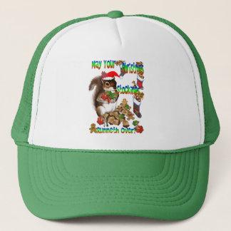 Christmas Squirrel Hat