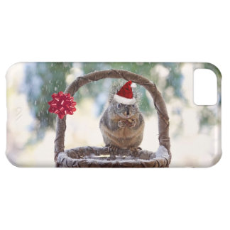 Christmas Squirrel in the Snow iPhone 5C Cover
