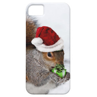 Christmas Squirrel iPhone SE/5/5s Case