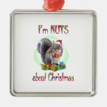 Christmas Squirrel Ornaments