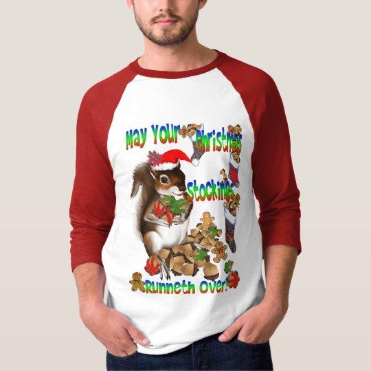 Christmas Squirrel Shirt