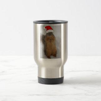 Christmas Squirrel Travel Mug