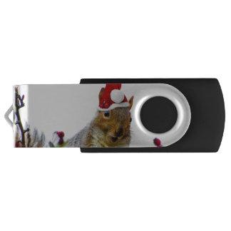 Christmas Squirrel USB Flash Drive