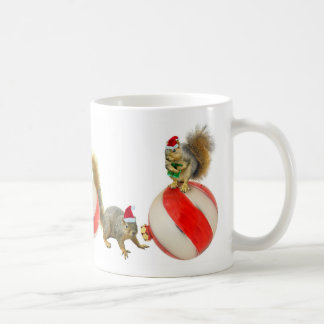 Christmas Squirrels Coffee Mug