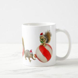 Christmas Squirrels Mug