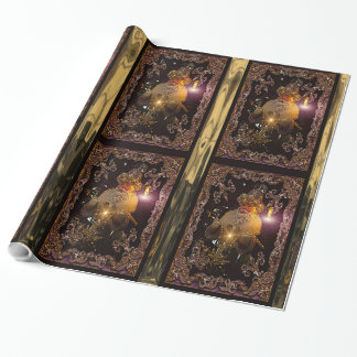 Christmas St. Nicholas Victorian Wrapping Paper