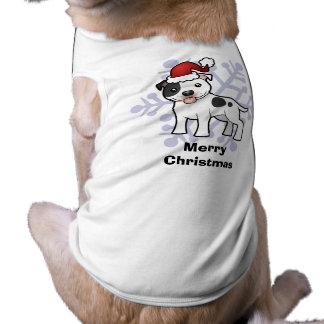 Christmas Staffordshire Bull Terrier T-Shirt