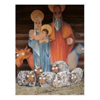 Christmas Stall Postcard