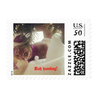 Christmas stamp for cat lovers!