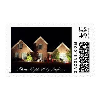 Christmas Stamp - Silent Night, Holy Night . . .