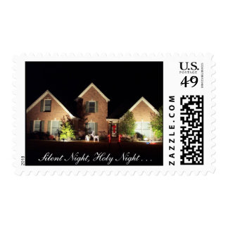 Christmas Stamp - Silent Night, Holy Night . . .