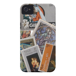 Christmas Stamps Case-Mate Case Case-Mate iPhone 4 Case