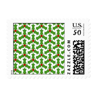 Christmas Stamps - Holly Luck
