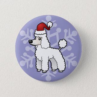 Christmas Standard/Miniature/Toy Poodle puppy cut Button