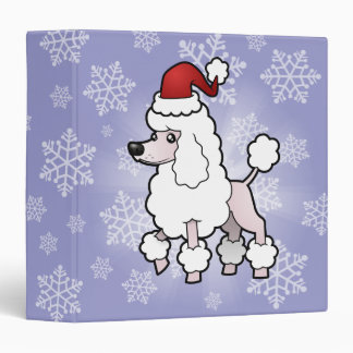 Christmas Standard/Miniature/Toy Poodle (show cut) Binder