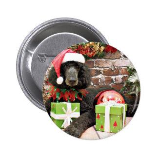Christmas - Standard Poodle - Bronco Pin