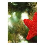 "Christmas Star 4.5"" X 6.25"" Invitation Card"