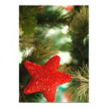 "Christmas Star 5"" X 7"" Invitation Card"