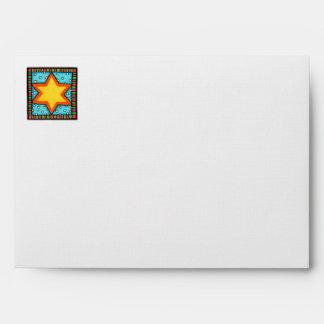 Christmas Star A7 Card Envelope