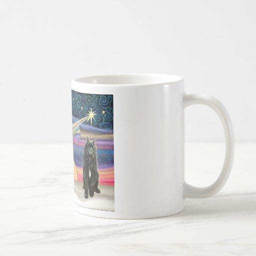 Christmas Star - Bouvier Classic White Coffee Mug