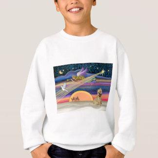 Christmas Star - Cairn Terrier 13 Sweatshirt