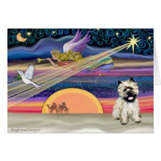 Christmas Star - Cairn Terrier 14 Card