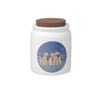 Christmas Star Candy Jar