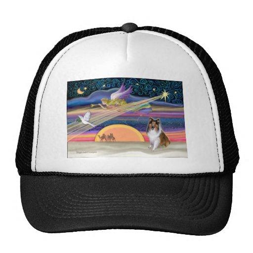Christmas Star - Collie #2 (sable) Trucker Hat