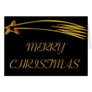 christmas star - Customized Card