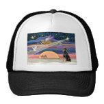 Christmas Star - Doberman 1 - Mesh Hat