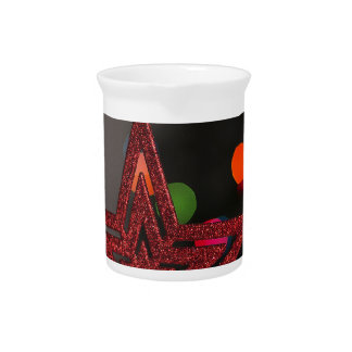 Christmas Star Drink Pitcher