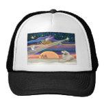 Christmas Star - Great Pyrenees 1 Mesh Hats