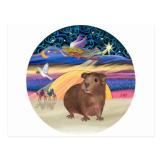 Christmas Star - Guinea Pig 3 Post Cards