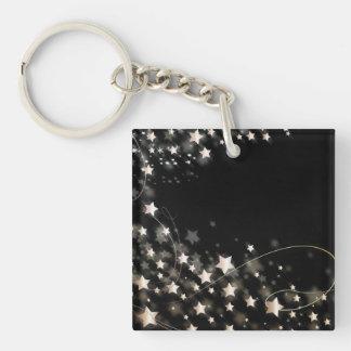 Christmas Star Acrylic Key Chain