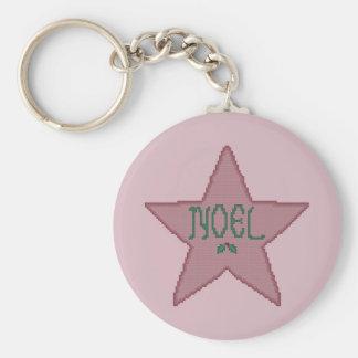 Christmas Star Keychain