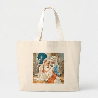 Christmas Star Nativity Painting Bags