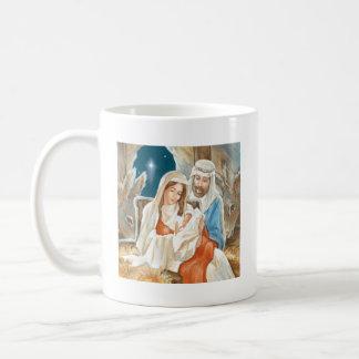 Christmas Star Nativity Painting Mugs