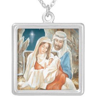 Christmas Star Nativity Painting Jewelry