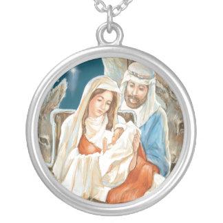 Christmas Star Nativity Painting Custom Jewelry