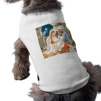 Christmas Star Nativity Painting Pet Clothing